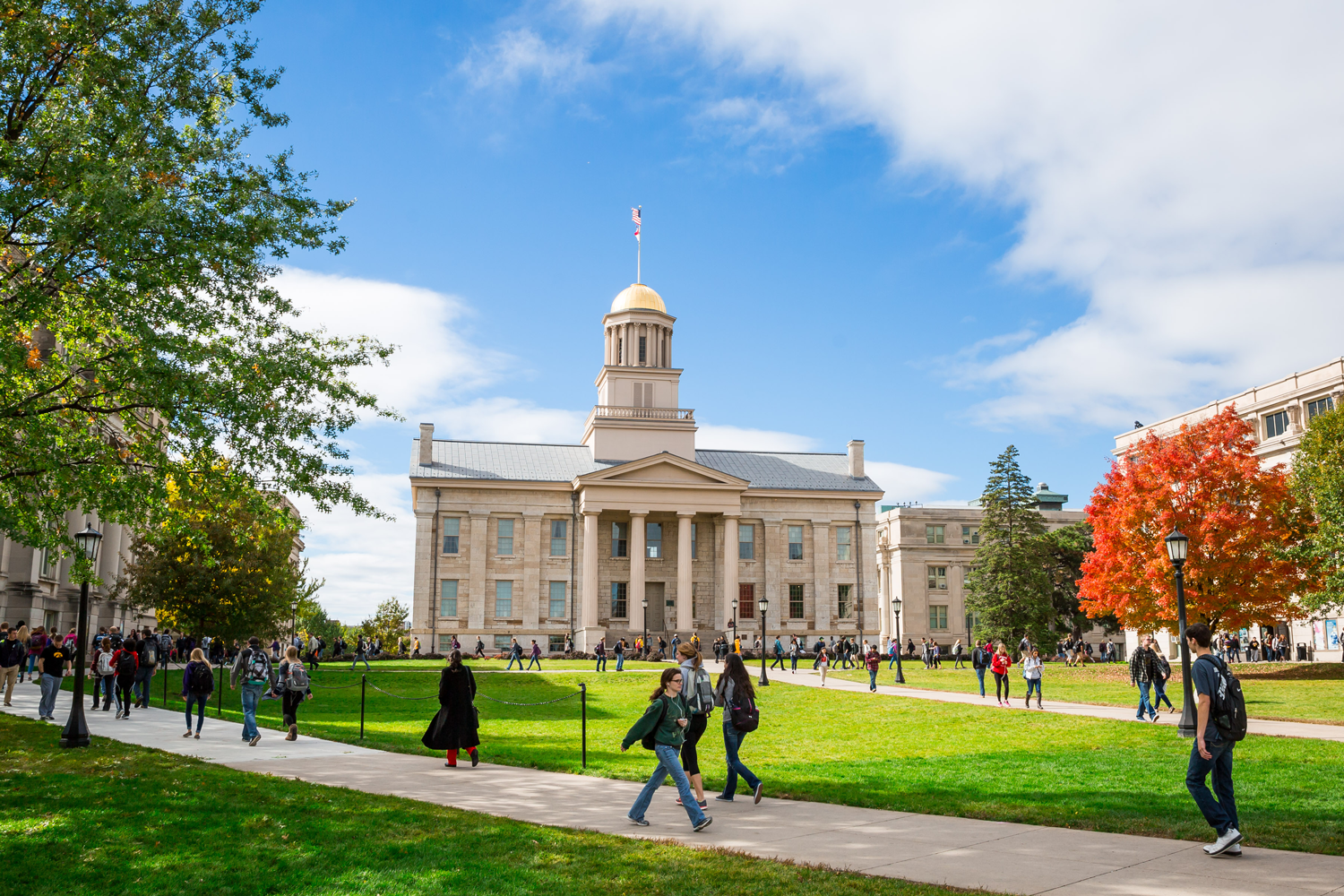 Image result for university of iowa campus walking